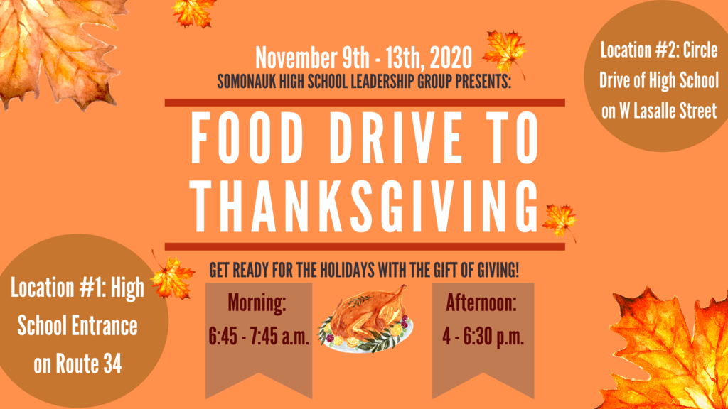 Leadership Thanksgiving Food Drive