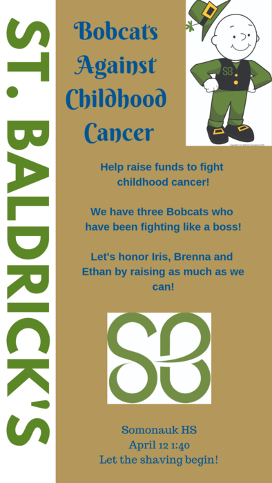 Saint Baldrick's flyer