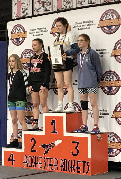 Shea Reisel #101 Girls Wrestling State Champion