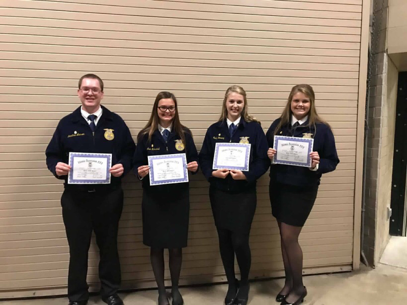 FFA State Degree Winners