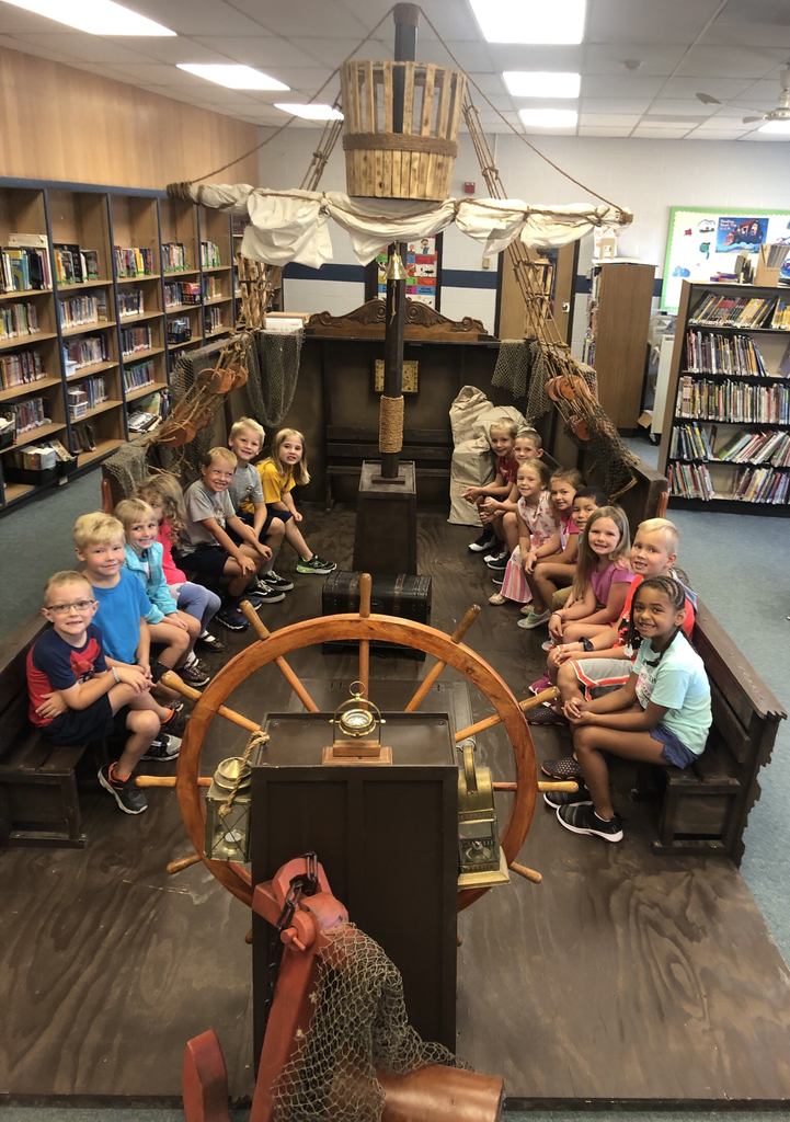 Check out the new pirate ship in our library!! 1A loves it!!