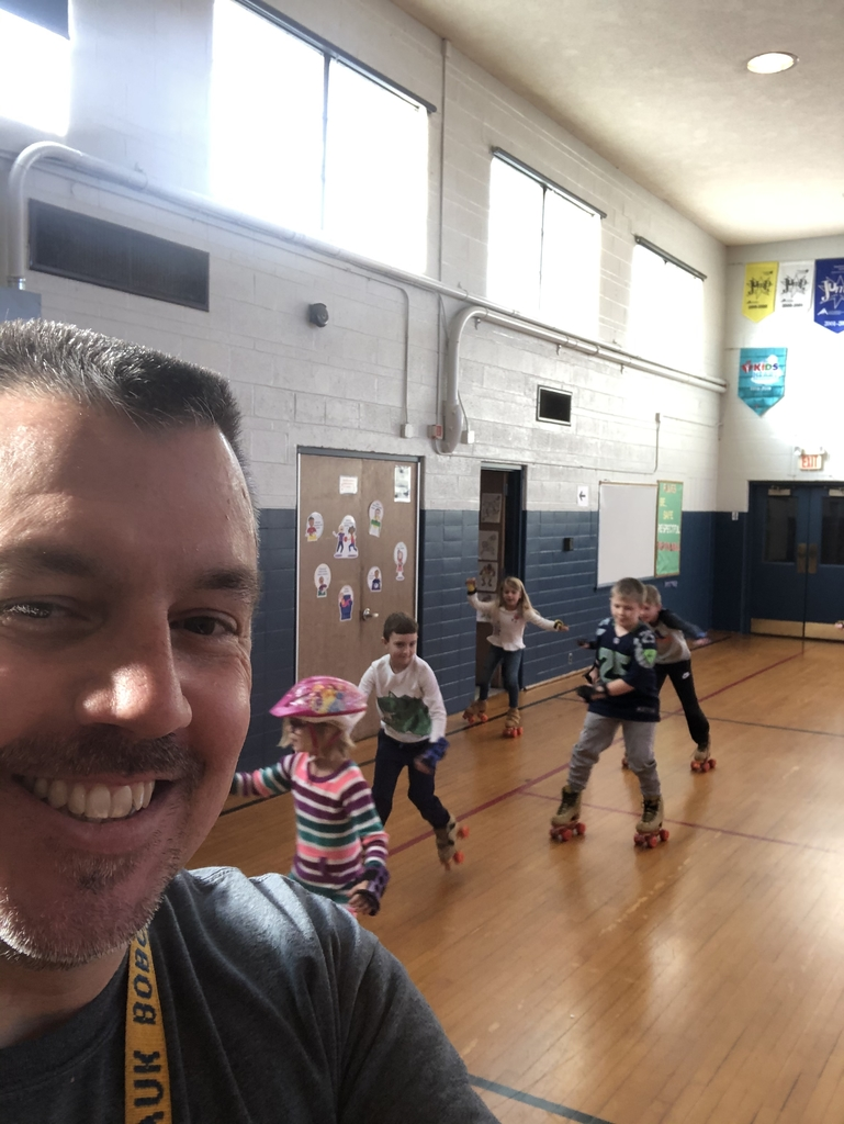 Selfie with second grade.