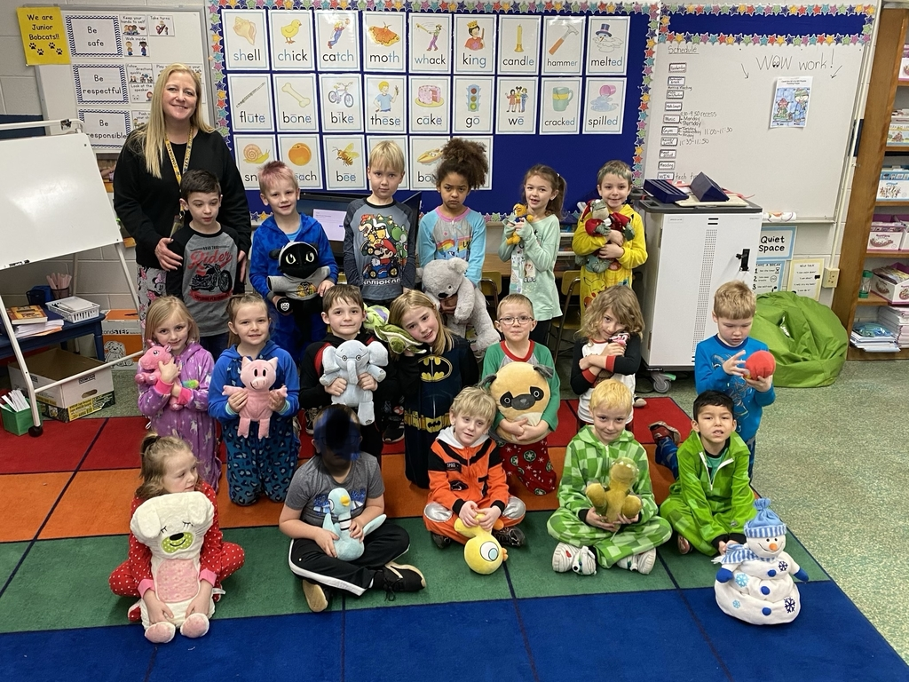 1A celebrating pajama day!!